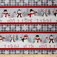 Wilmington Snowy Wishes Repeating Stripe Multi