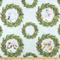 Wilmington Woodland Friends Wreaths Multi