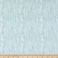 Wilmington Woodland Friends Wood Grain Teal