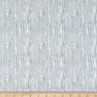 Wilmington Woodland Friends Wood Grain Gray
