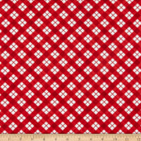 Wilmington Cuppa Cocoa Plaid Red