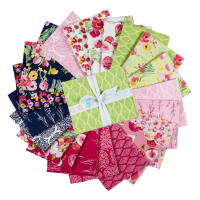Riley Blake Fruitful Pleasures Fat Quarter Bundle, 18 Pcs.