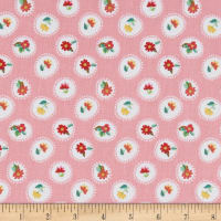 Riley Blake Hand Picked Posie Pink
