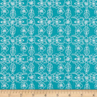 Riley Blake Hand Picked Violet Teal