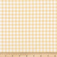 Kaufman Sevenberry: Petite Basics Gingham Natural