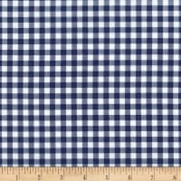 Kaufman Sevenberry: Petite Basics Gingham Navy