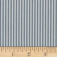 Splendid Home Durant Ticking Indigo