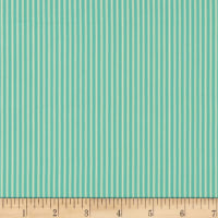Splendid Home Ticking Stripe Aqua