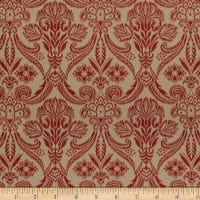 Splendid Home Venice Jacquard Red