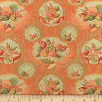 Splendid Home Bondi Twill Coral