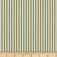 Splendid Home Ticking Stripe Ciocolato