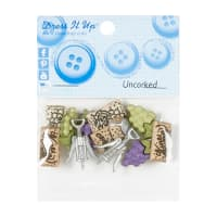 Sew Cute Uncorked 11ct Button Pack