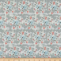 Penny Rose Abbie Floral Gray