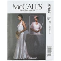 McCall's M7867 The Archive Collection Misses' Dress and Jacket A5 (Sizes 6-14)
