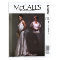 McCall's M7867 The Archive Collection Misses' Dress and Jacket E5 (Sizes 14-22)