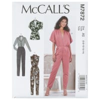 McCall's M7872 Misses' Romper and Jumpsuit A5 (Sizes 6-14)