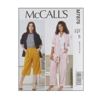 McCall's M7876 Misses' Jackets and Pants A5 (Sizes 6-14)