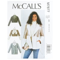 McCall's M7877 Misses' Jackets A5 (Sizes 6-14)