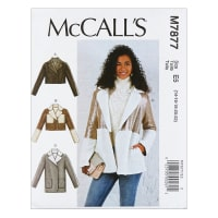 McCall's M7877 Misses' Jackets E5 (Sizes 14-22)