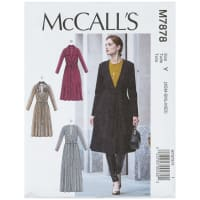 McCall's M7878 Misses' Jacket and Belt Y (Sizes XS-S-M)