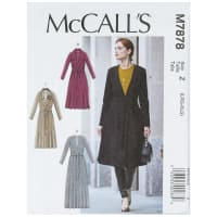 McCall's M7878 Misses' Jacket and Belt Z (Sizes L-XL)