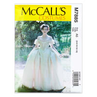 McCall's M7885 Angela Clayton Misses' Costume A5 (Sizes 6-14)