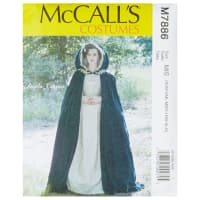 McCall's M7886 Angela Clayton Misses' Costume MIS (All Sizes in One Envelope)