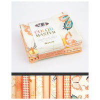 Art Gallery Curated Bundles Color Master Bundle No.4 Quite PeacHalf Yard Bundle Edition - Fat Quarter Bundle