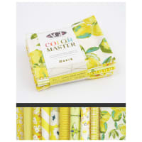Art Gallery Curated Bundles Color Master Bundle..No.6 Lemon Green Edition - Fat Quarter Bundle
