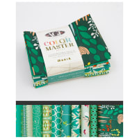 Art Gallery Curated Bundles Color Master Bundle..No.7 Emerald Stone Edition - Fat Quarter Bundle