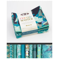 Art Gallery Curated Bundles Color Master Bundle..No.8 Teal Thoughts Edition - Fat Quarter Bundle