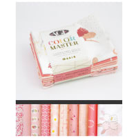 Art Gallery Color Master Fat Quarter Bundles 10 Pcs No.17 Rose Parfait Edition