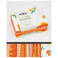 Art Gallery Color Master Fat Quarter Bundles 10 Pcs No.20 Tangerine Summer Edition