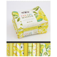 Art Gallery Curated Bundles Color Master Bundle..No.6 Lemon Green Edition - Half Yard Bundle