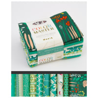 Art Gallery Curated Bundles Color Master Bundle..No.7 Emerald Stone Edition - Half Yard Bundle