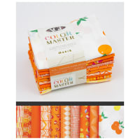 Art Gallery Color Master Half Yard Bundles 10 Pcs No.20 Tangerine Summer Edition