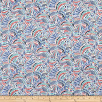 Liberty Fabrics Tana Lawn Imagination Grey/Purple