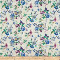 Liberty Fabrics Tana Lawn Yorkshire Rose Blue