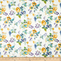 Liberty Fabrics Tana Lawn Yorkshire Rose Yellow