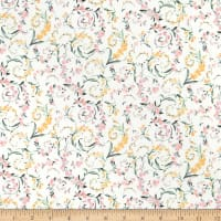 Liberty Fabrics Tana Lawn Romance Pink/Orange