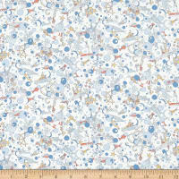 Liberty Fabrics Tana Lawn Ocean Treasure Grey