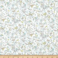 Liberty Fabrics Tana Lawn Ocean Treasure Green