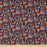 Liberty Fabrics Tana Lawn Floral Affair Purple/Multi