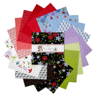 "Penny Rose Home Again 10"" Squares 42 Pcs."
