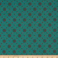 Penny Rose Charlotte Medallion Green
