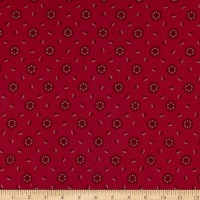 Penny Rose Charlotte Medallion Red