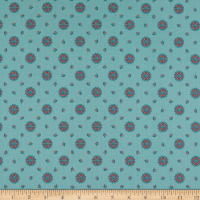 Penny Rose Charlotte Medallion Teal