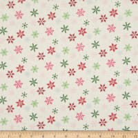 Riley Blake Merry And Bright Snowflakes Cream