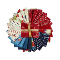 Penny Rose Harry & Alice Go To The Sea Fat Quarter Bundle, 25 Pcs