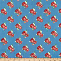 Penny Rose Harry & Alice Go To The Sea Small Floral Blue